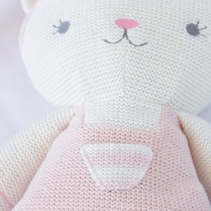 Knitted Toy - Ava Cat