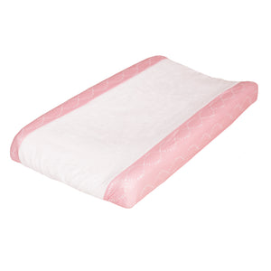 Changing Pad Cover - Pink Braids