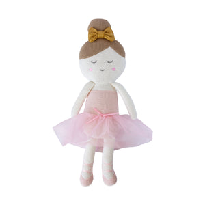 Knitted Toy -  Emma Ballerina