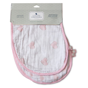 muslin baby burp cloths set