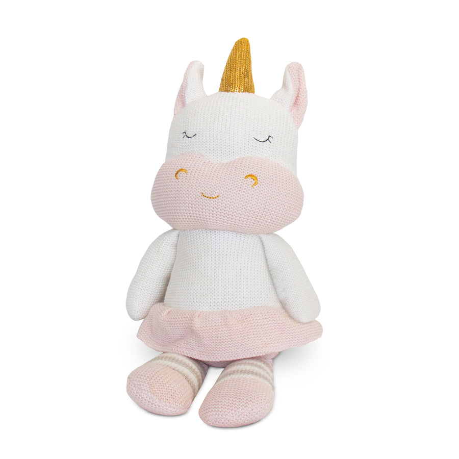 Knitted Toy - Kenzie Unicorn