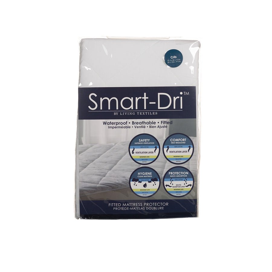 Smart-Dri™ Waterproof Mattress Protector - Crib