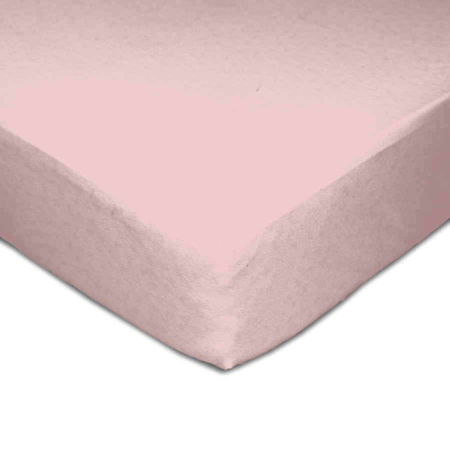 Muslin Crib Fitted Sheet - Pink
