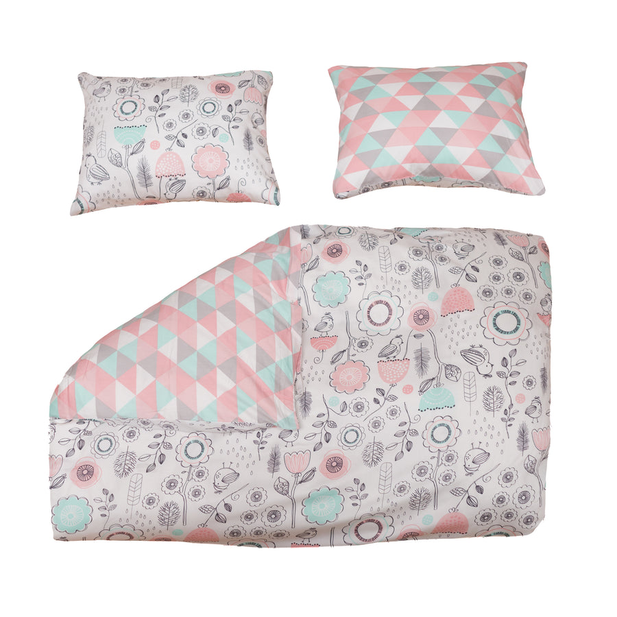 Sparrow 3-Piece Full/Queen Duvet Set
