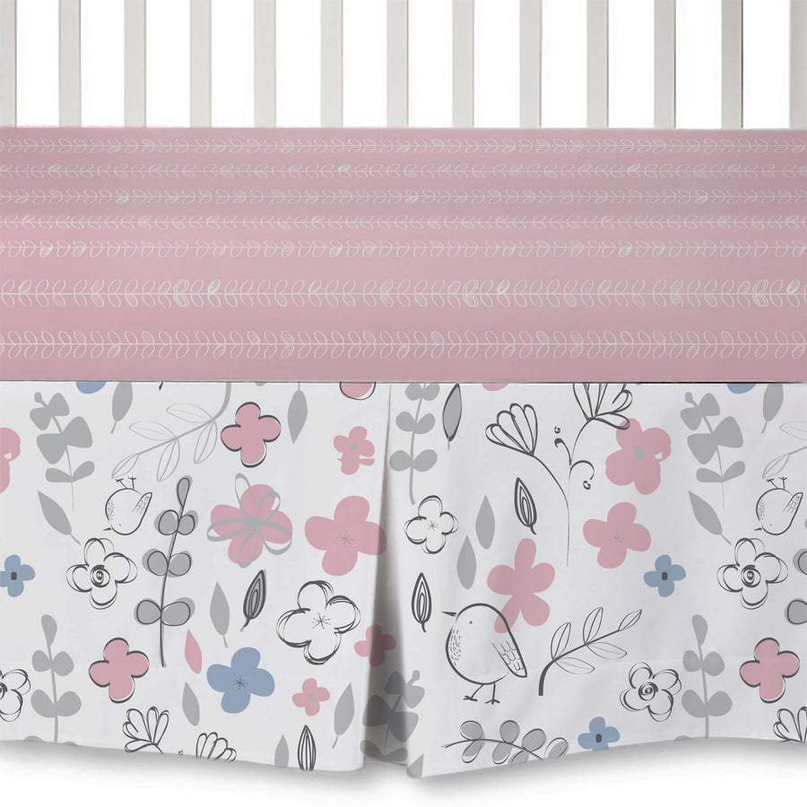 4pc Crib Bedding Set - Mazie | Living Textiles Co.