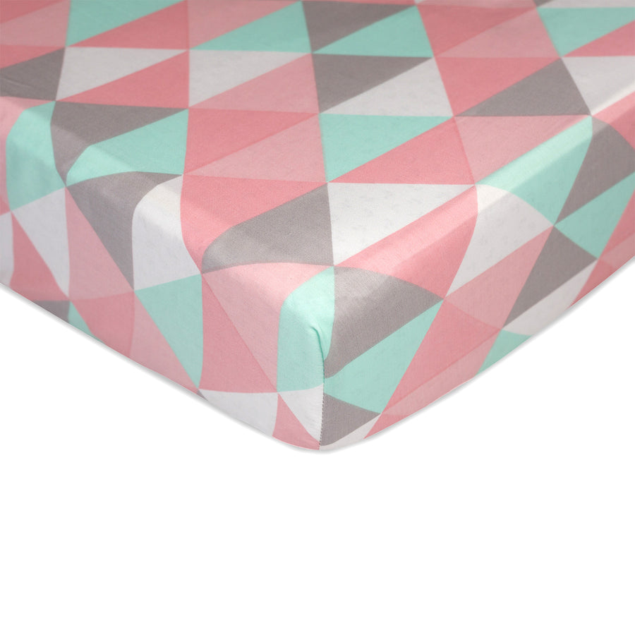 Crib Fitted Sheet - Tripod