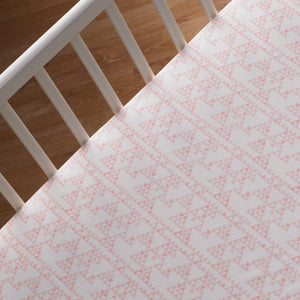 Crib Fitted Sheet - Mesa