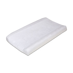 Changing Pad Cover - White Jersey