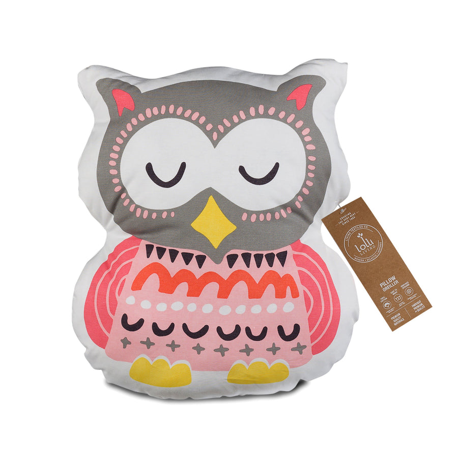 Cushion - Enchanted Garden Owl - Living Textiles Co.