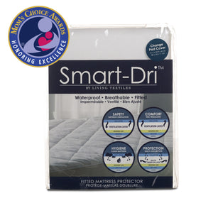 Smart-Dri™ Waterproof Mattress Protector - Change Pad - Living Textiles Co.