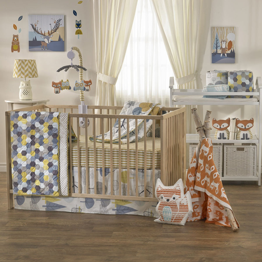 Hexagons Crib Bumper Lolli Living Living Textiles Co