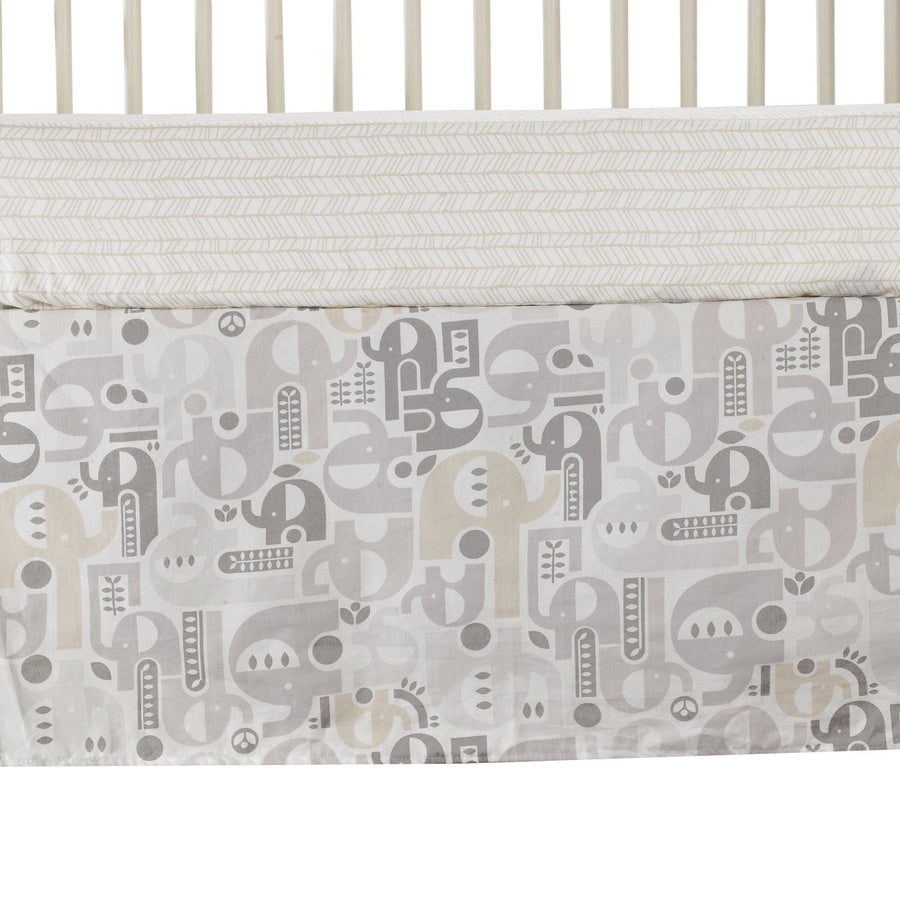 4pc Crib Bedding Set - Naturi - Living Textiles Co.