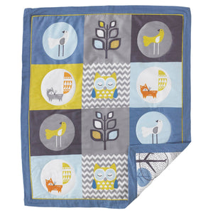 4pc Crib Bedding Set - Woods - Living Textiles Co.