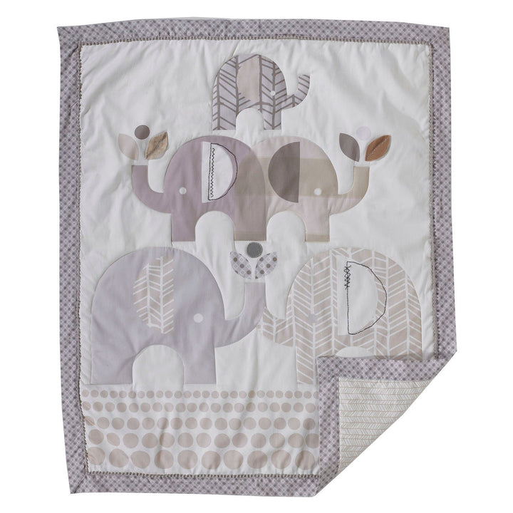 Baby Quilt - Elephants | Living Textiles Co.