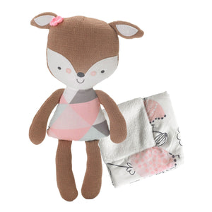 Softie Plush & Blankie - Fiona Deer - Living Textiles Co.