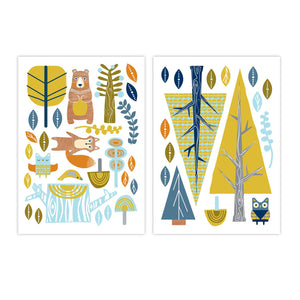 Wall Decals - Woods - Living Textiles Co.