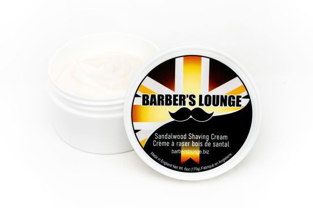 Barber's Lounge Shave Cream - Sandalwood