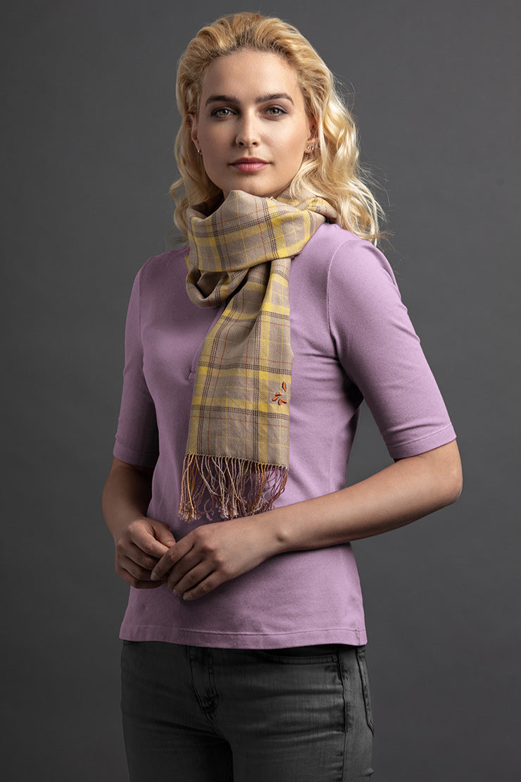 Women's Linte Polo And Scarf