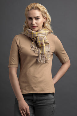 Women's LŽrŽ Polo And Scarf