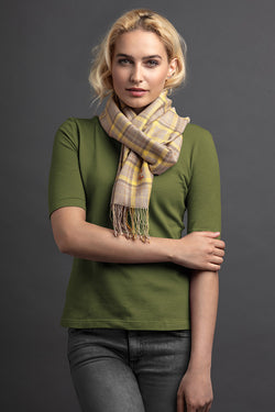 Women's Letta Polo And Scarf