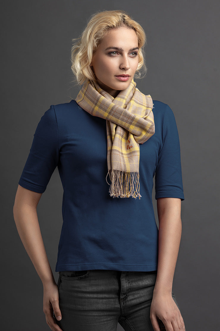 Women's Léré Polo And Scarf