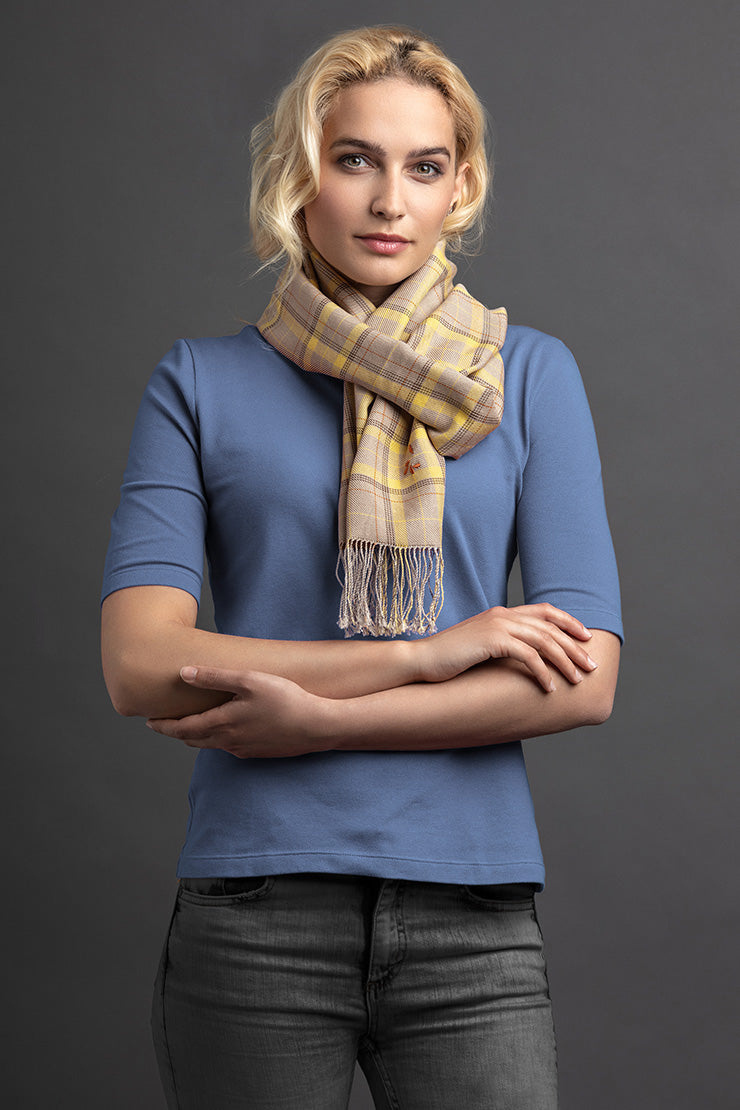 Women's Lelem Polo And Scarf