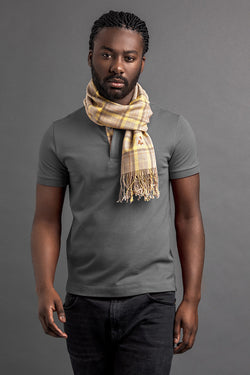 Men's Laok Polo And Scarf