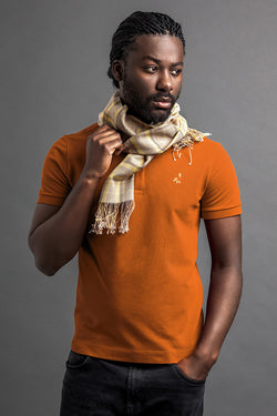 Men's Lati Polo And Scarf