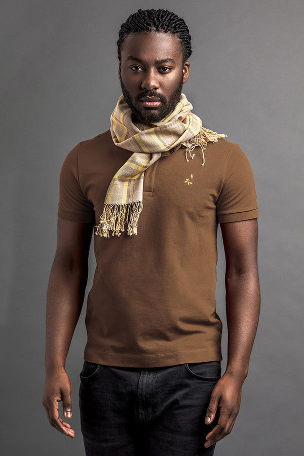 Men's Lendi Polo And Scarf