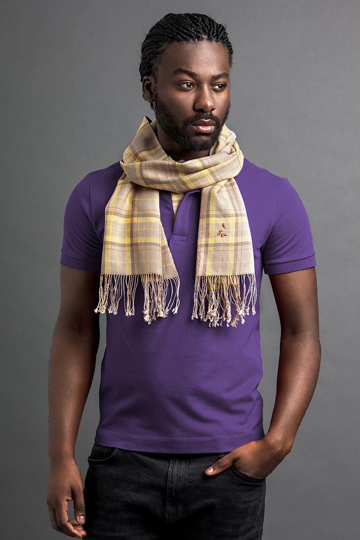 Men's Lebya Polo And Scarf