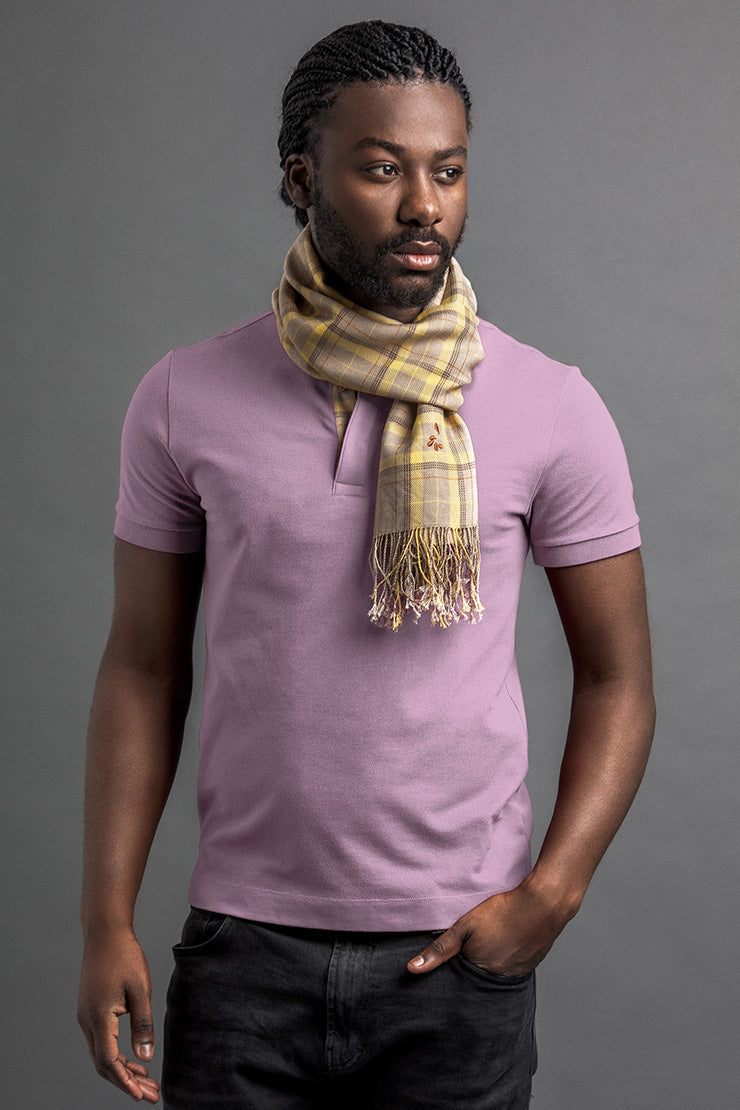 Men's Lohé Polo And Scarf