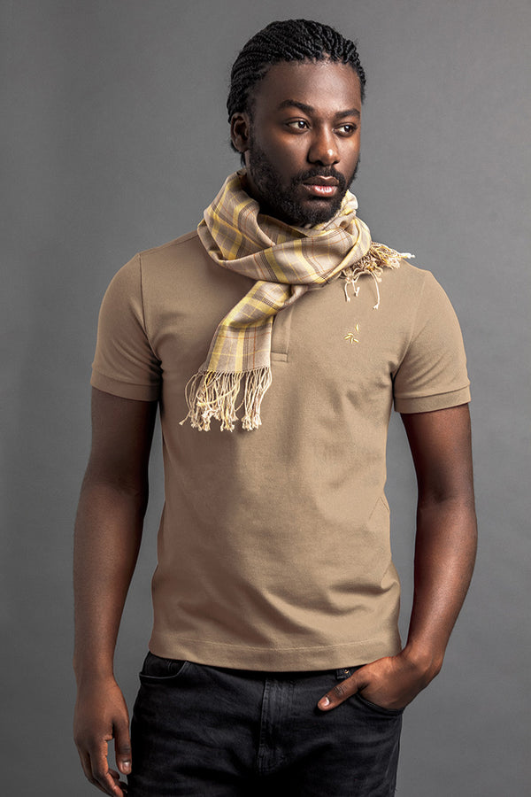 Men's Lere Polo And Scarf