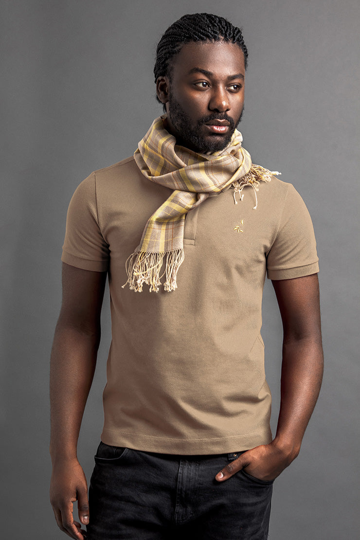 Men's Linté Polo And Scarf