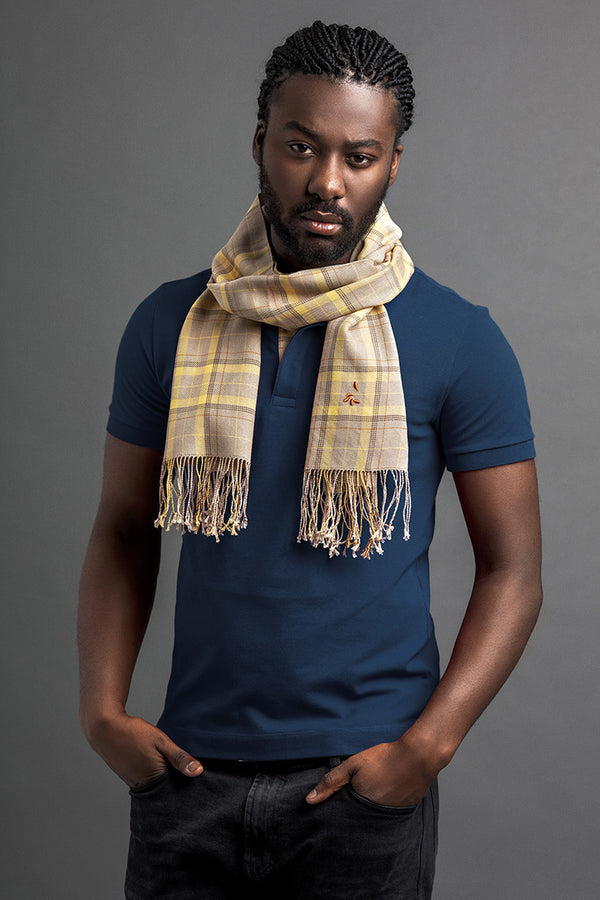 Men's Libok Polo And Scarf
