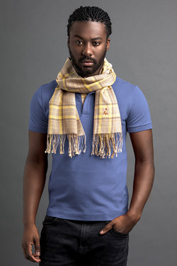 Men's Linte Polo And Scarf