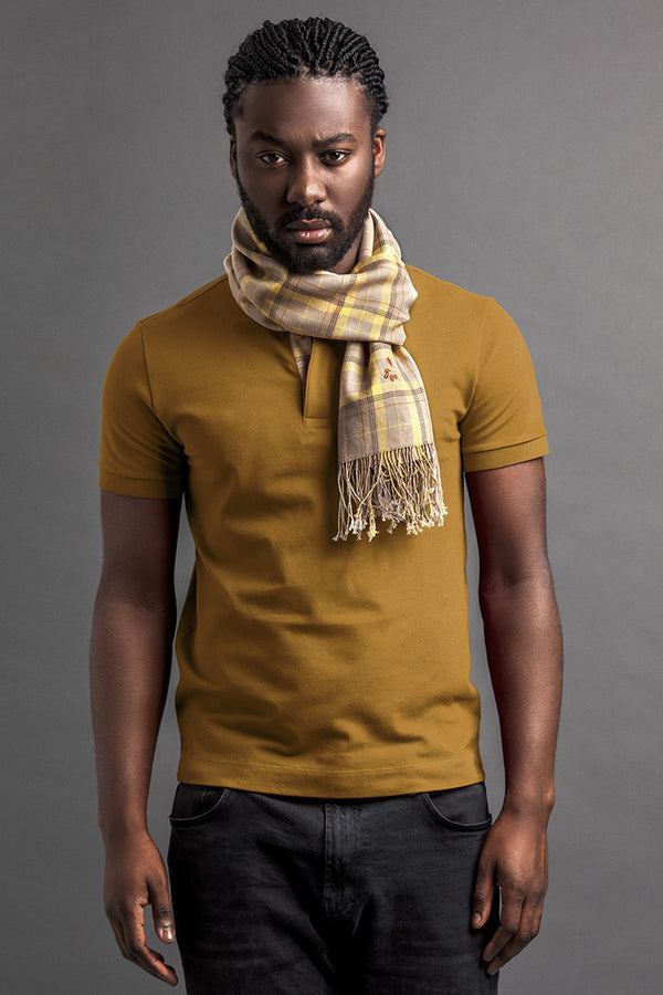 Men's LohŽ Polo And Scarf