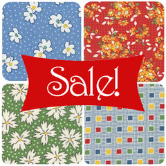 Abby Rose, Painted Meadow and other Robin Pickens Fabrics