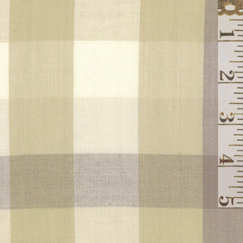Pure & Simple Large Plaid Natural 12131 16