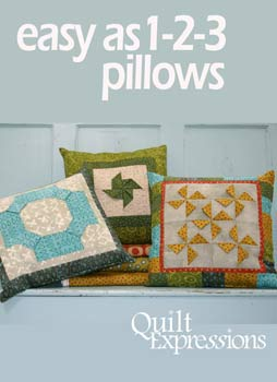 Easy as 1-2-3 Pillows Pattern