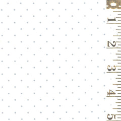 Modern BG Paper Pindot Silver on White 1588 13
