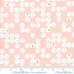 Day In Paris Fabric Metallic Twinkle Bubble Gum (1683 14M)