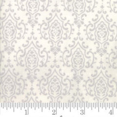 Bee Inspired Monotone Damask White 19797 13