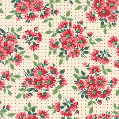American Jane Reproduction Dotted Daisy Natural 21690 11