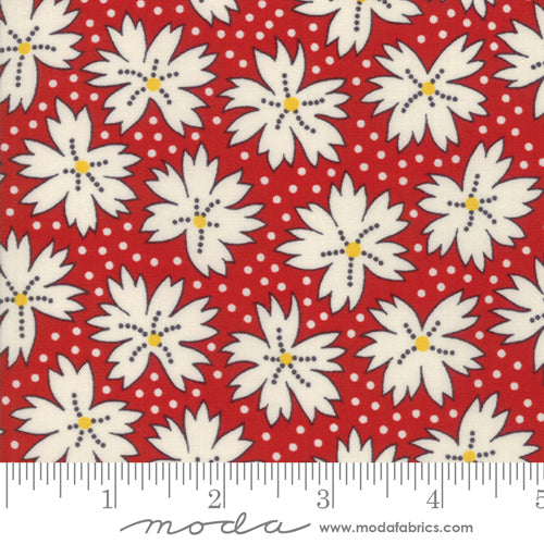 Play All Day Reproduction Blossoms Red 21743 15