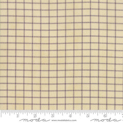Sweet Violet Plaid Ivory/Lavender 2227 11