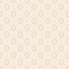 Folk Art Flannel Argyle Cream F2585-33