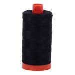 2692 Black Aurifil Thread