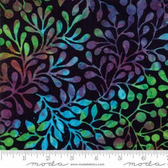 Carnival Midnight Fern Batik