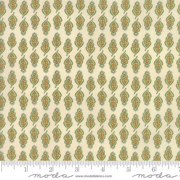 Garden Notes Full Leaf Linen/Green 6097 16