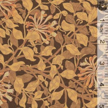 Morris Dandelions Brown 8115 26